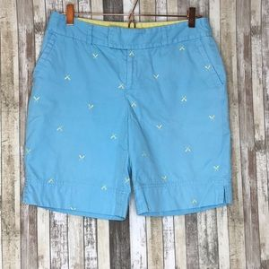 Lilly Pulitzer Palm Beach Fit Blue Bermuda Shorts